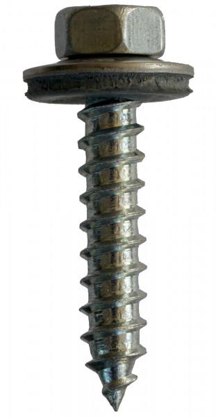 BÄR Fassadenbauschrauben A A2 Scheibe 16mm