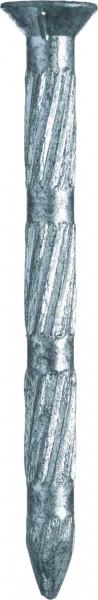 stahlnagel senkkopf gehärtet metallisiert bär